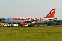 G-EZDN - A319 - EasyJet