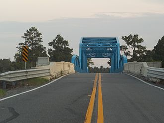 U.S. Route 17 in Georgia - Bridge over the St. Mary's River