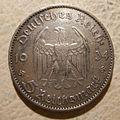 GERMANY, THIRD REICH 1934 -5 REICHSMARK a - Flickr - woody1778a.jpg