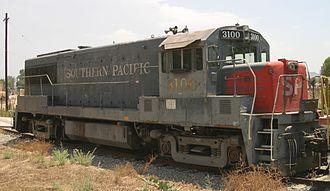 GE U25B - Image: GE U25B front 2