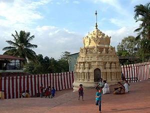 Gavi Gangadhareshwara Temple - Image: GG Temple 1