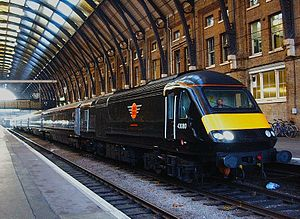 Grand Central Railway - 43080 at London King's Cross on 18 December 2007, the first day of Grand Central services