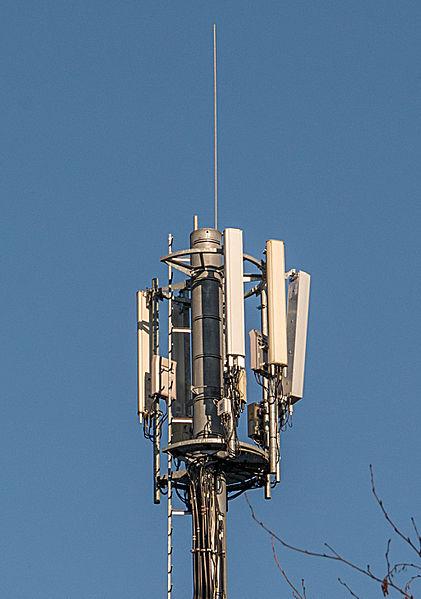 En Antennemast zu Zowaasch.