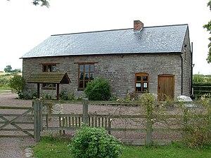 Gadfield Elm Chapel - Gadfield Elm Chapel, from the picnic area