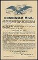 Gale Borden Eagle Brand Condensed Milk. (back) - 8199961847.jpg