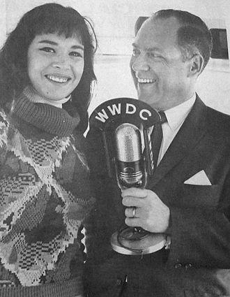 WSPZ - Fred Fiske and Gale Garnett in 1964.