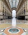 Galleria Vittorio Emanuele II Slow Motion Sud.jpg