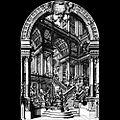 Galli da Bibiena, Giuseppe — Entwurf für das Theatrum Sacrum (Hofkapelle Wien) — 1740.jpg