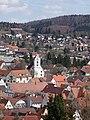 Gammertingen, mit Kirche Sankt Leodegar.JPG