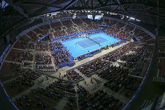 Armeets Arena - indoor arena.