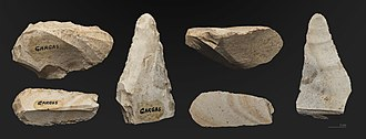 Caves of Gargas - Image: Gargas cave, Lithic industry