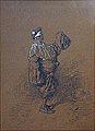 Gavarni P. - Encre et rehauts de blanc - Pierrot - 21x29.4cm.jpg