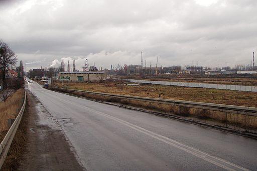 Gdańsk Letnica ulica Uczniowska