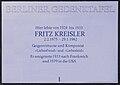 Gedenktafel Bismarckallee 32a (Grunw) Fritz Kreisler.JPG