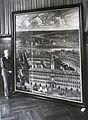 Gemälde des Hansehaus Antwerpen von Hans Lehmkuhl für das Bremer Rathaus restauriert..JPG