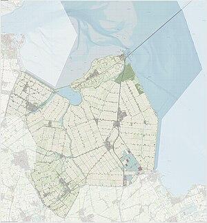 Hollands Kroon - Dutch Topographic map of Hollands Kroon, June 2015