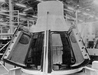 Boilerplate (spaceflight) - Image: Gemini BP3Amockup