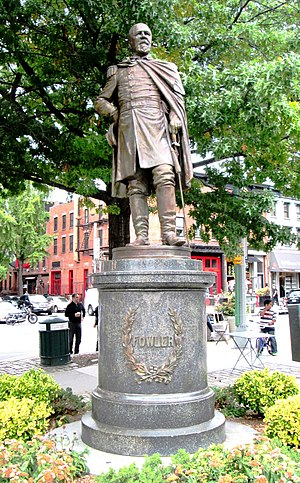 Henry Baerer - Image: General Edward Fowler in Fowler Square crop