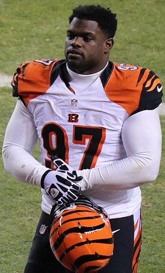 Geno Atkins - Atkins with the Cincinnati Bengals in 2015