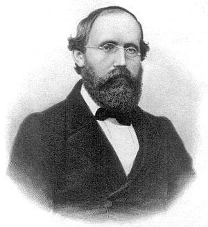 Bernhard Riemann - Bernhard Riemann in 1863.