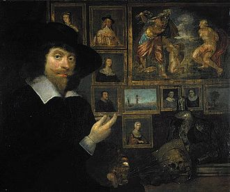 John Michael Wright - George Jamesone (1590–1644) self-portrait (c.1642), National Galleries of Scotland