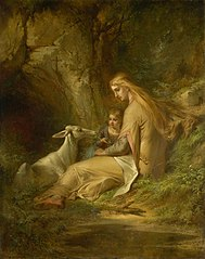 St. Genevieve of Brabant in the Forest