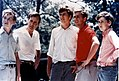 George H. W. Bush with his sons.jpg