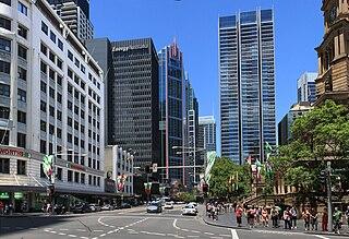 George Street, Sydney street in Sydney