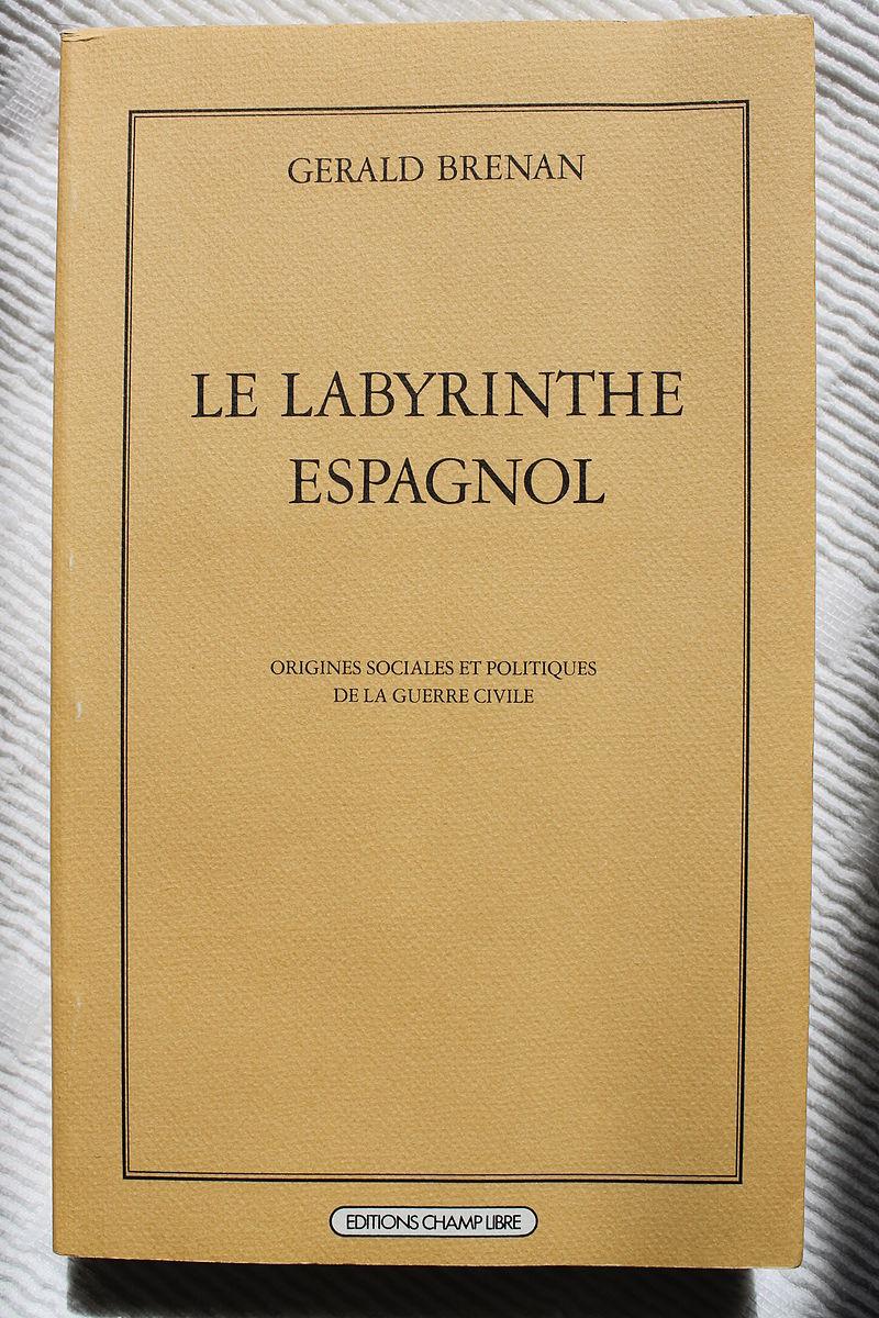 Edición francesa de El Laberinto español, Champ Libre.