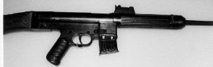 StG 45(M) - The early Mauser Gerät 06H prototype assault rifle.