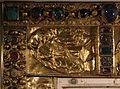 Germania occidentale, coperta di libro in oro (1000 ca.), con avorio bizantino del X secolo 02.jpg