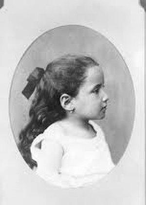 Gertrude Stein - Gertrude Stein, age 3