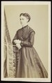 Ghémar, Frères - carte de visite, Portret van een jongedame.tif