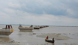Ghaghara - Ghaghra river in Sitapur