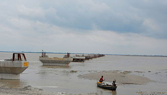 Sitapur district - Image: Ghaghra river in Sitapur