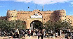 قلعه ناصری در ایرانشهر