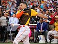 Giancarlo Stanton competes in final round of the '16 T-Mobile -HRDerby (28490268441).jpg