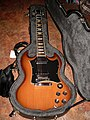 Gibson SG Standard natural sunburst in Case (photographed by Roadside Guitars).jpg