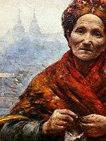 Gierymski Jewish woman (detail) 01.jpg