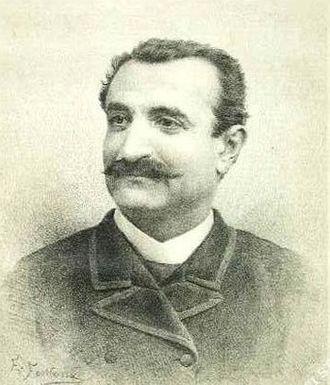 Giovanni Battista De Negri - Portrait of De Negri by Ernesto Fontana