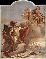 Giovanni Battista Tiepolo - Venus Appearing to Aeneas on the Shores of Carthage - WGA22336.jpg