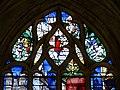 Gisors (27), collégiale St-Gervais-et-St-Protais, collatéral nord, verrière n° 23 - vie des saints Crépin et Crépinien 2.jpg