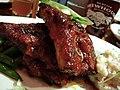Glacier Brewhouse - BBQ ribs (2855239227).jpg