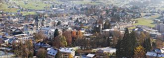 Glarus - Panorama of the City of Glarus