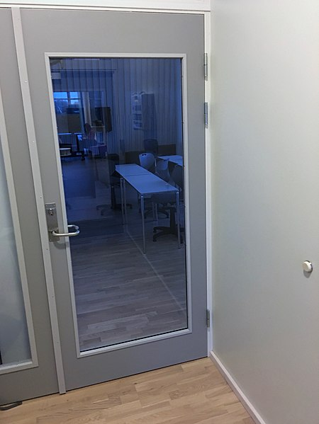 Fileglass Door School Interior Doorstop Wall Bumper Tjeldst