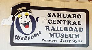 Adobe Mountain Desert Park - Welcome to Sahuaro Central Railroad Museum