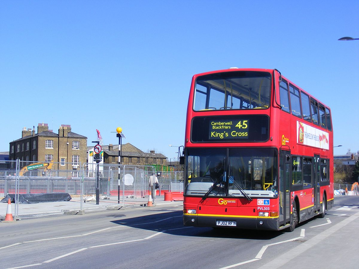 london buses route 45 - wikipedia