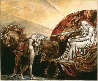 Adam - God Judging Adam, William Blake, 1795
