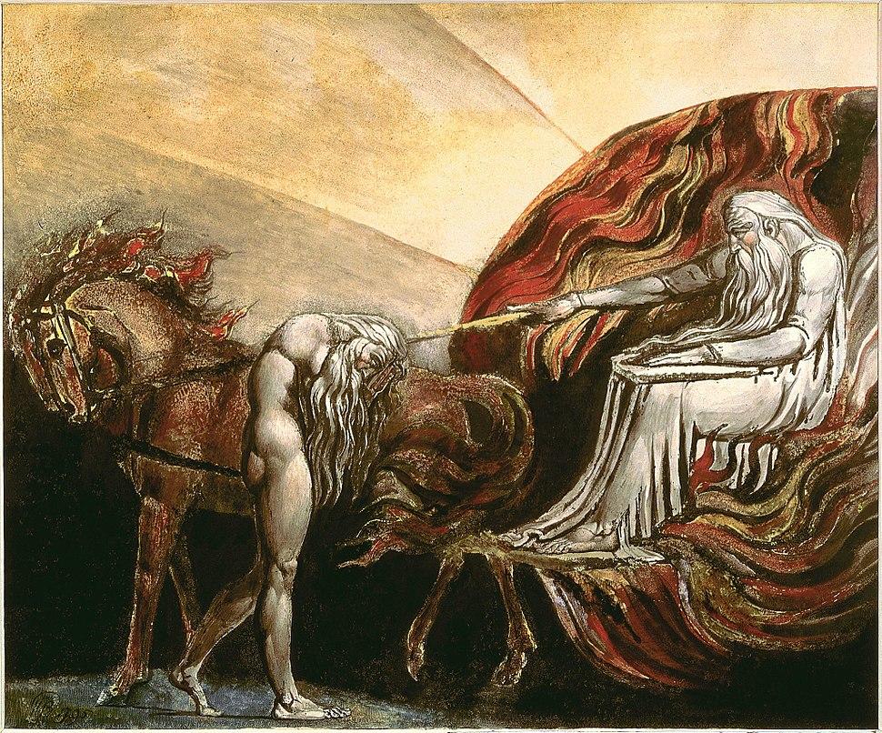 God judging adam blake 1795