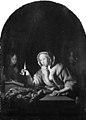 Godfried Schalcken - A Lady Sealing a Letter - KMSsp617 - Statens Museum for Kunst.jpg